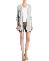 Barneys New York Waffle Knit Cardigan