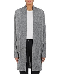 Barneys New York Wool Cashmere Open Front Cardigan