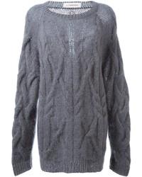 A.F.Vandevorst Oversized Cable Knit Sweater