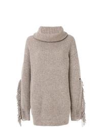 Fringe Sleeve Stella Mccartney Mccartney Sweater Stella Fringe Sleeve nfYYBqX