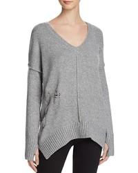 John & Jenn John Jenn Oversized Deep V Sweater 100%