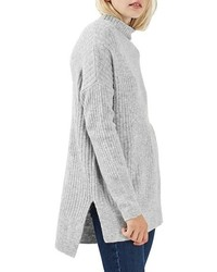 Oversized funnel neck sweater medium 1055571