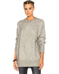 R 13 R13 Oversized Crewneck Sweater