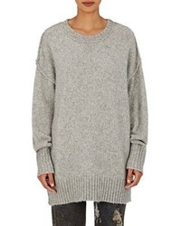R 13 R13 Oversized Crewneck Sweater