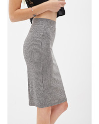 Forever 21 Ribbed Knit Pencil Skirt | Where to buy & how to wear
