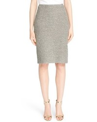 St. John Collection Moorisha Knit Pencil Skirt