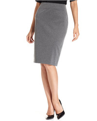 Style co pull on ponte knit pencil skirt medium 366338