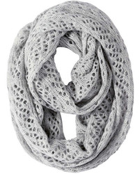 Joe Fresh Cable Knit Circle Scarf Khaki Mix