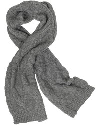 Cable knit wool blend scarf medium 386683