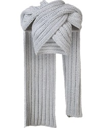 Christian Siriano Knitted Wrap Scarf