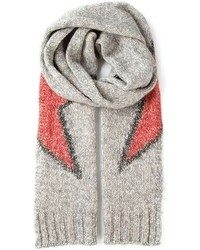 Dondup Knit Star Scarf