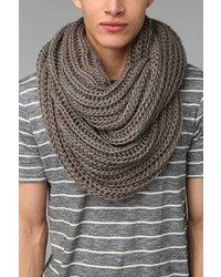 Urban Outfitters Double Cable Knit Eternity Scarf