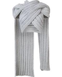 Knitted wrap scarf medium 840728