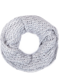 River Island Light Grey Loose Knit Snood