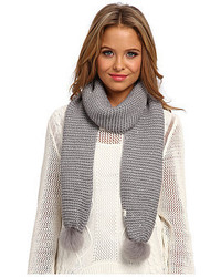 UGG Lyla Sequin Scarf With Pom