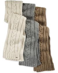 Michael Kors Michl Kors Hand Knit Cable Scarf