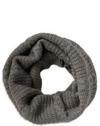 Hugo Boss Z 514 Cable Knit Merino Wool Infinity Scarf
