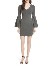 Swing sleeve knit sheath dress medium 4354758