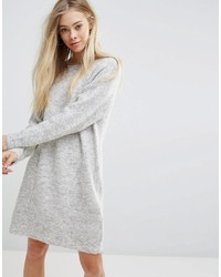 New Look Back Detail Sweater Dress