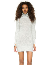MinkPink Catch Kiss Sweater Dress