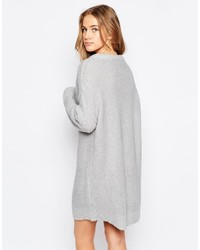 ee7d3e9e7bef5d Asos Collection Oversized Sweater Dress In Chunky Knit, $62 | Asos ...
