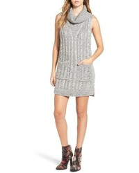 Cowl neck sweater dress medium 846805