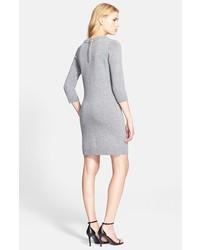 106d753c22b ... Milly Embellished Trim Sweater Dress ...