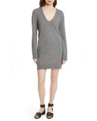 Rosemary v neck cashmere sweater dress medium 6754439