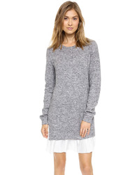 Clu Too Pleated Sweater Dress