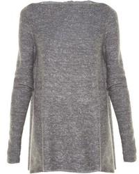 Stella McCartney Wide Neck Sparkle Knit Sweater