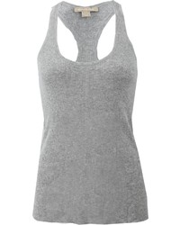 Michl kors ribbed racer back tank medium 218660