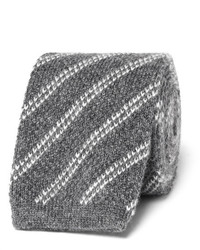 Tom Ford 75cm Striped Knitted Cashmere Tie