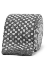 Canali 8cm Knitted Silk And Cashmere Tie