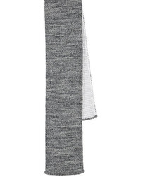 Thom Browne Intarsia Knit Wool Necktie