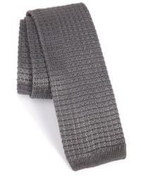 Knit silk tie medium 5423564