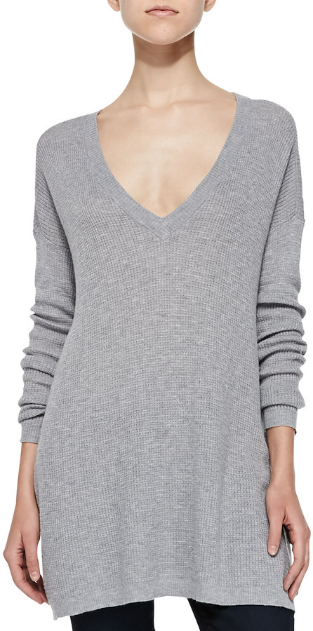 Soft Joie Beau V Neck Tunic Sweater | Where to buy & how to wear
