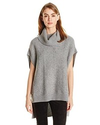 BCBGMAXAZRIA Elinor Textured Oversized Boxy Tunic Sweater