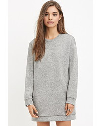 Forever 21 Heathered Scuba Knit Tunic
