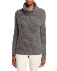 Davenport cashmere turtleneck sweater medium 1158425