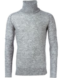 Diesel Black Gold Turtleneck Knit Sweater