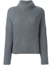 Dusan Ribbed Roll Neck Sweater