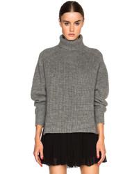 Etoile Isabel Marant Isabel Marant Etoile Laney Alpaca Ribs Turtleneck Sweater