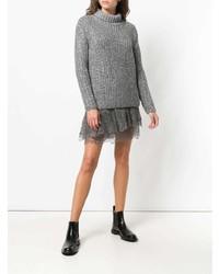 Ermanno Scervino Faux Crystal Embellished Sweater