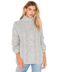 J.o.a. Long Sleeve Turtleneck Sweater