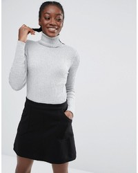 Monki Turtleneck Knit Top