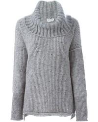Sonia Rykiel Chunky Knit Turtle Neck Sweater