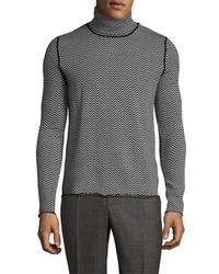 The Kooples Wool Herringbone Sweater