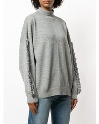 Barrie Troisieme Diion Cashmere Turtleneck Pullover