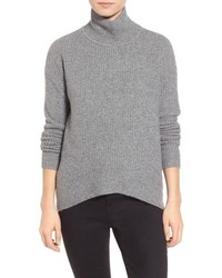 Wafflestitch turtleneck sweater medium 402275