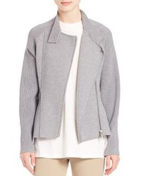 3.1 Phillip Lim Double Knit Moto Jacket